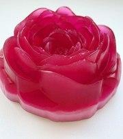 Мыло ручной работы «Роза» в ассортименте