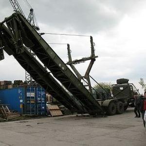 Тяжелый механизированный мост тмм-3