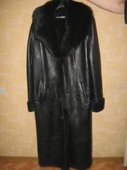 Продам новый кожаный плащ,  натуральная кожа
