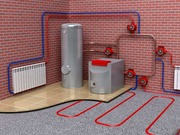 Монтаж систем отопления,  водяной теплый пол.