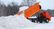 Услуги по вывозу снега самосвалом Камаз 10 тн